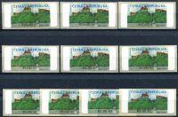 (2000) AU1C-1 ** - Machine stamps - Veveří 10 pcs (* 0,40 - * 14,40, -Kč)
