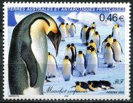(2003) MiNr. 504 ** - Francouzská Antarktida - Tučňák císařský