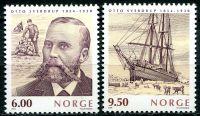 (2004) MiNr. 1502 - 1503 ** - Norsko - Otto Sverdrup