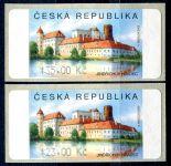 (2007) AU3-3 ** - Jindřichův Hradec 2 ks (23-35,-Kč)