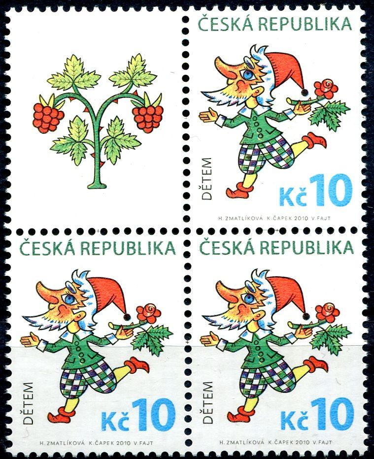 (2010) č. 633 ** - ČR - Dětem- VK-1