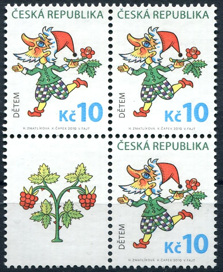 (2010) č. 633 ** - ČR - Dětem- VK3