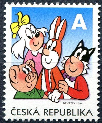 """(2010) č. 642 ** - ČR - Čtyřlístek """"A"""""""