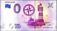 (2019-2) Německo - maják ROTER SAND - € 0,- pamětní suvenýr