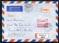 Luftpostbrief - Tschechoslowakei-Österreich - MiNr. 499 - Stempel. 15. VI. 50 Znojmo