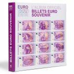 "Leuchtturm obr. album č. 1 na EURO ""SUVENÝR"" bankovky + SPECIMEN bankovka"