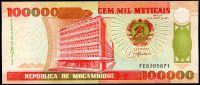 Mosambik (P 139) - 100.000 Meticais (1993) - UNC