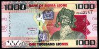 Sierra Leone - (P 30b) 1000 LEONES (2013) - UNC