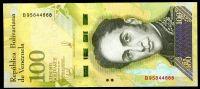 Venezuela (P 100d) - 100 000 bolivares (13.12.2017) - UNC