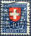 "(1923) MiNr. 188 - O - Švýcarsko - ""Pro Juventute"""