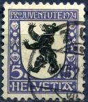 "(1924) MiNr. 209 - O - Švýcarsko - ""Pro Juventute"""