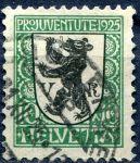 "(1925) MiNr. 215 - O - Švýcarsko - ""Pro Juventute"""