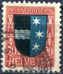 "(1926) MiNr. 220 - O - Švýcarsko - ""Pro Juventute"""