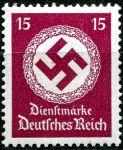 (1934) MiNr. D 139 ** - Deutsches Reich - Služební známka