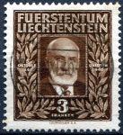 (1940) MiNr. 191 - O - Lichtenštejnsko - 100. narozeniny prince Johanna II.