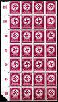 (1934) MiNr. D 139 ** 28-bl + okr. - Deutsches Reich - Služební známka