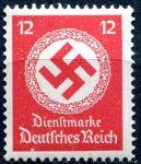 (1944) MiNr. D 172 ** - Deutsches Reich - Služební známka