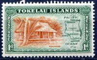 (1948) MiNr. 2 ** - Tokelau - přetisk
