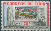 (1962) MiNr. 805 - O - Kuba - PRAGA 1962
