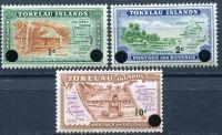 (1967) MiNr. 6 - 8 ** - Tokelau - přetisk