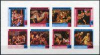 (1978) Yt GQ 153 nd ** aršík - Rovníková Guinea - Světoznámé obrazy