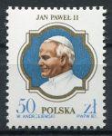 (1987) MiNr. 3101 ** - Polsko - Návštěva Jana Pavla II. v Polsku
