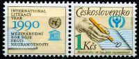 (1990) č. 2921 ** KL - ČSSR - Boje proti negramotnosti