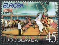 (2002) MiNr. 3078 ** - Jugoslávie - EUROPA - cirkus