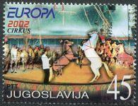 (2002) MiNr. 3078 ** - Jugoslávie - EUROPA - cirkus