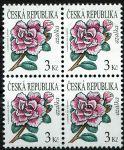 (2008) č. 554 ** 4-bl - Česká republika - Krása květů Azalka