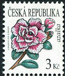 (2008) č. 554 ** - Česká republika - Krása květů Azalka
