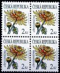 (2011) č. 684 ** - Česká republika - 4-bl - Krása květů Chryzantéma