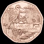 (2013) 5 € Cu - Austria - Land of water (UNC)