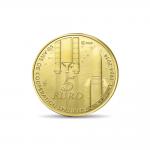 (2014) - 5 € Au - Francie - ESA - Evropská kosmická spolupráce (proof)