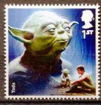 (2015) MiNr.  3796 ** - Velká Británie - Star Wars I. - Yoda
