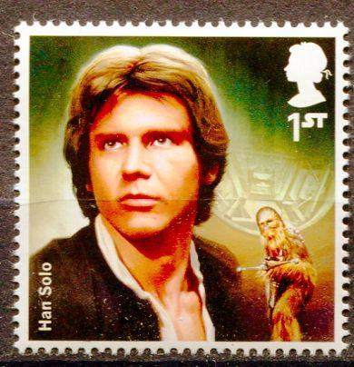 (2015) MiNr. 3799 ** - Velká Británie - Star Wars I. - Han Solo/ H. Ford