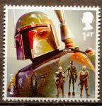 (2015) MiNr.  3804 ** - Velká Británie - Star Wars I. - Boba Fett