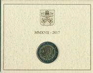 (2017) - 2 € - Vatikán - Umučení sv. Petra a sv. Pavla (BU)