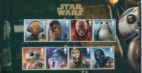 (2017) MiNr. 4098 - 4105 ** - Velká Británie - Star Wars IV.