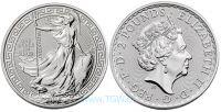 (2018) Velká Británie - 2 pounds (stříbrná)  BRITANNIA - orientální motiv (UNC)