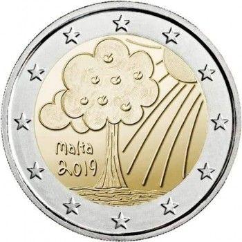 (2019) 2€ - Malta - Příroda a životní prostředí (BU)