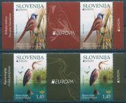 (2019) MiNr. 1367 - 1368 ** (zn. + K) - Slovinsko - EUROPA - ptactvo