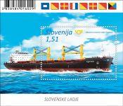 "(2019) MiNr. 1369 ** - Slovinsko - BLOCK 117 - Nákladní loď ""Portorož (IV.)"""