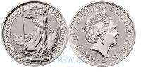 (2019) Velká Británie - 2 pounds (stříbrná mince)  BRITANNIA (UNC)