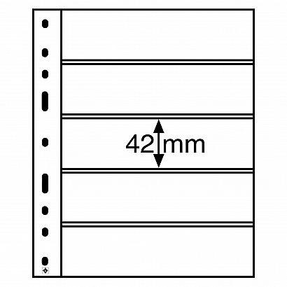 OPTIMA listy - 5S - černé (bal. 10 ks)