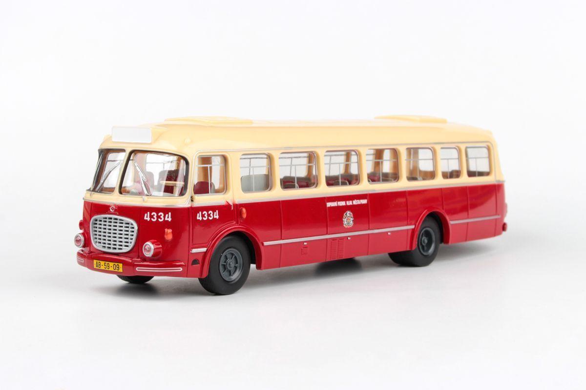 Abrex model autobus Škoda 706 RTO - D.P. hl. města Prahy (1:43)   www.tgw.cz
