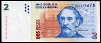 Argentina (P 352.7) - 2 Pesos (2002) - UNC