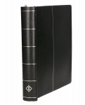 Bazar - Černé pérové desky Leuchtturm + listy Vatikán