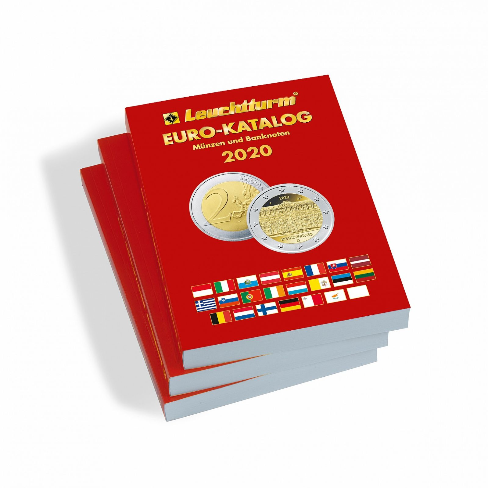 Euro katalog AJ (anglický) - mince a bankovky 2020