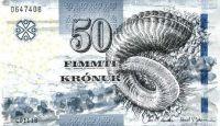 Faerské ostrovy - (P 29) 50 Krónur (2011) - UNC